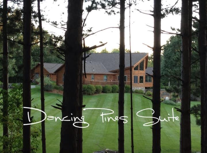 Dancing Pines Suite near SJU, CSB & Wobegon Trail.