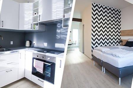 Podkrovní apartmán s balkónem - Brno - Loft