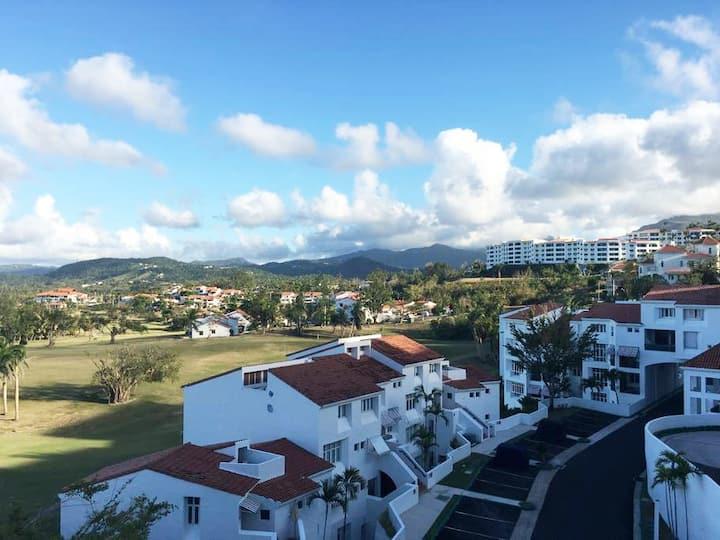 Villa @ Wyndham Rio Mar Resort - Golf Course Views