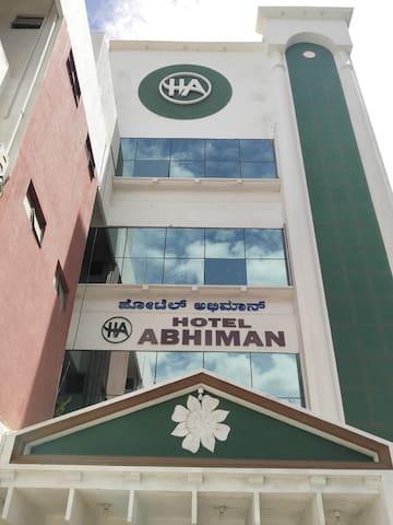 iROOMZ Hotel Abhiman NonA/c Double room Davanagere