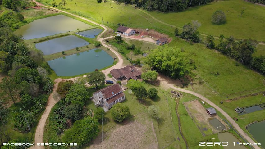 Casa de Campo, Sítio,  Vale Europeu - SC