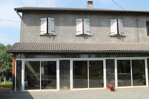 Detached apartment at the foot of the Pyrenees