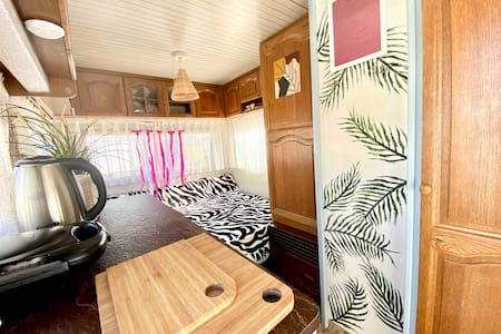 Surf caravan in the heart of Jastarnia