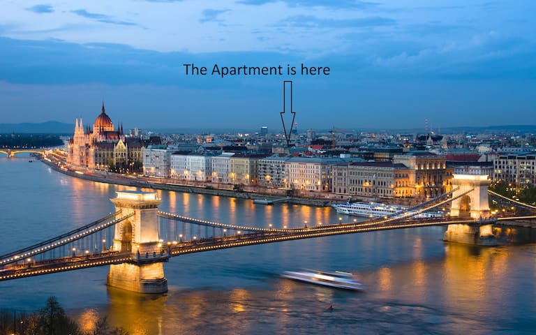 B64 60m2 Budapest City Center 2 Bedroom, + LivingR