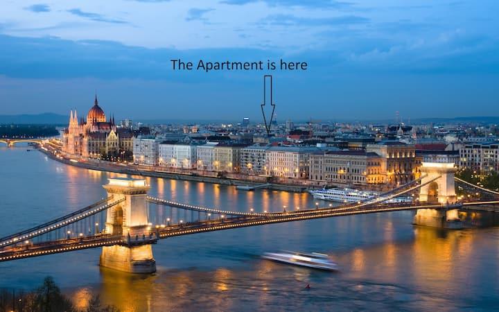 B64 60m2 Budapest City Center 2 Bedroom, + LivingR
