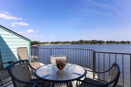 Condominium on the water, can fish! - Willis