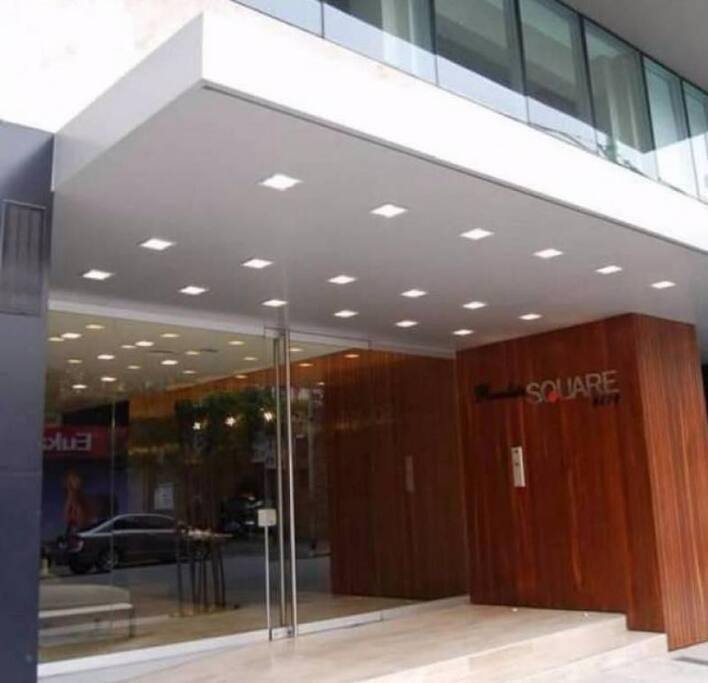 Frente del edificio