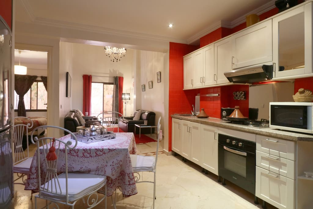 appartement duplex piscine wifi gu liz hivernage appartements louer marrakech marrakech. Black Bedroom Furniture Sets. Home Design Ideas