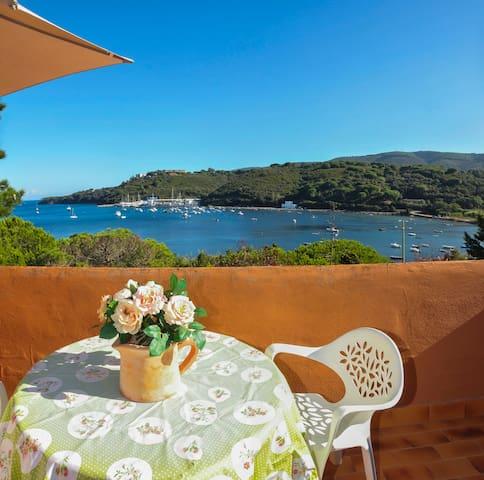 Isola d'Elba Delizioso monolocale vista mare N. 25