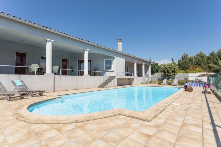 Villa. Near River. Private Swimming Pool, Private Garden. Terrace