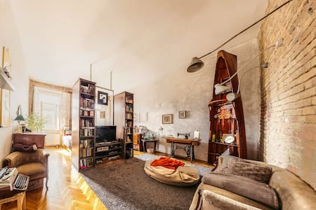 Industrial vintage home - Budapeste