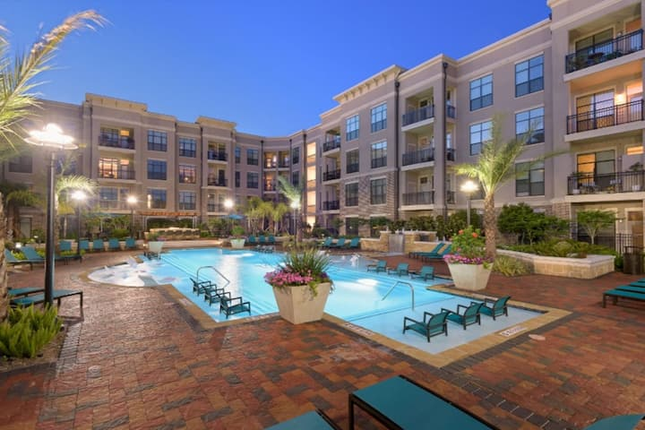 Large 1bdrm Unit and Upgraded Amenities in Houston