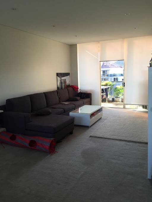 our living area with balcony