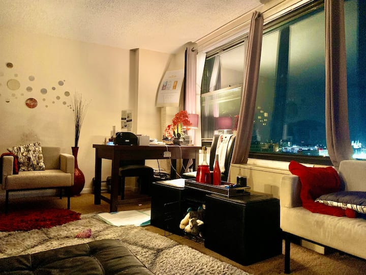 8 Mins from EWR -Penthouse Luxury Apartment