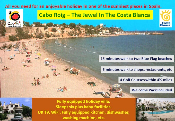 Delightful Cabo Roig - The Gem of the Costa Blanca