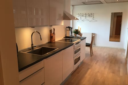 Room in apartment with access to wellness (no 1) - Hillerød