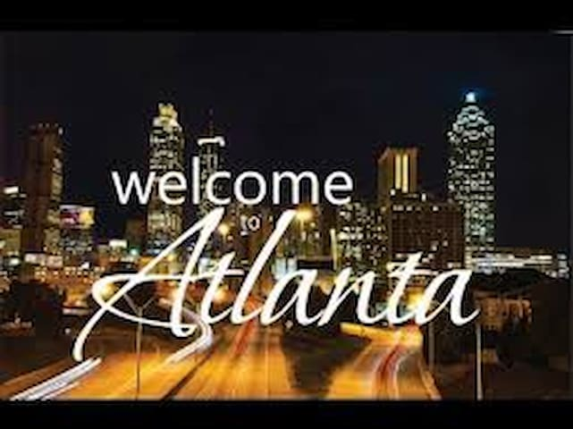 ATL STAY 6 mins from Airport/15 to M.Benz Stadium!