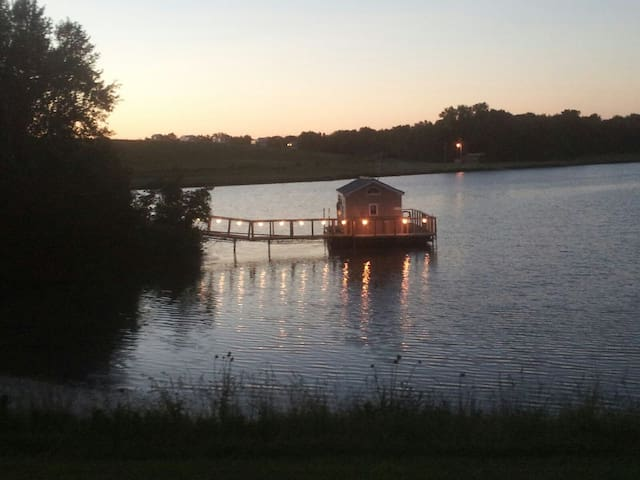 The Boathouse on Shale Lake #6