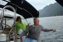 Sailing, anytime of year
