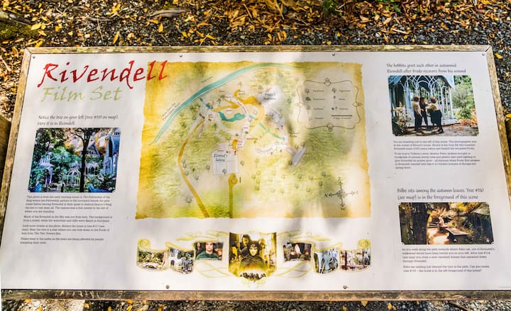 Lord of The Rings - Rivendell film site