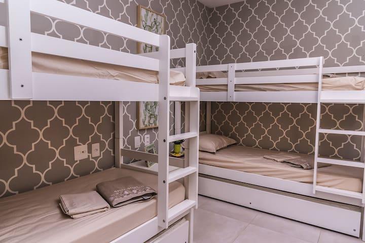 Terceiro Quarto com Beliches - 3th Room  with Bunk Beds (2)