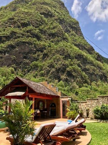 2-Story Bedroom in Caribbean Hideaway