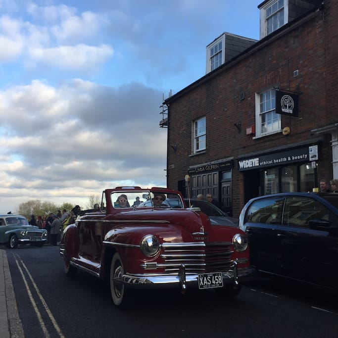 The much loved vintage car rally is held on November 12th 2017