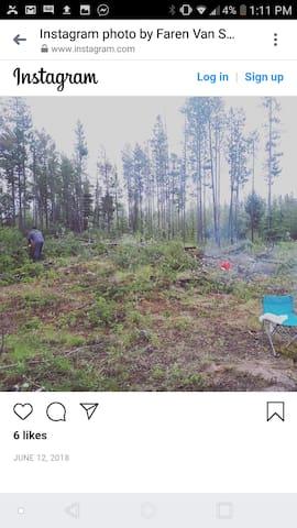 Hidden Campsite 100 Mile House