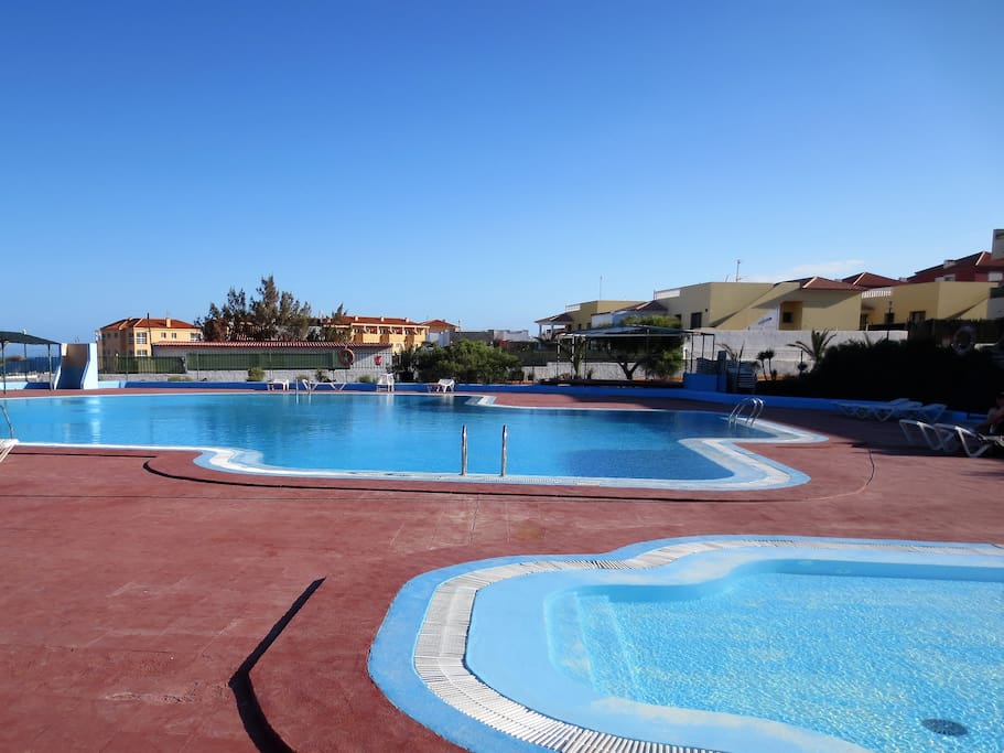 Swimming Pool Bungalow Free Wifi Bungalows For Rent In Antigua Canarias Spain