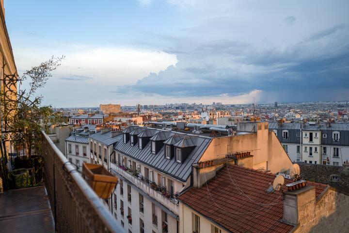 Pour un séjour romantique a Paris.