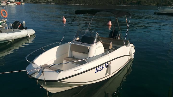 NEW 2017 !!! Quicksilver 505 Open, Mercury 80 HP