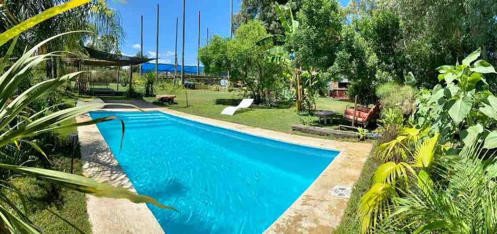 Casa con piscina- La Barra, El Tesoro