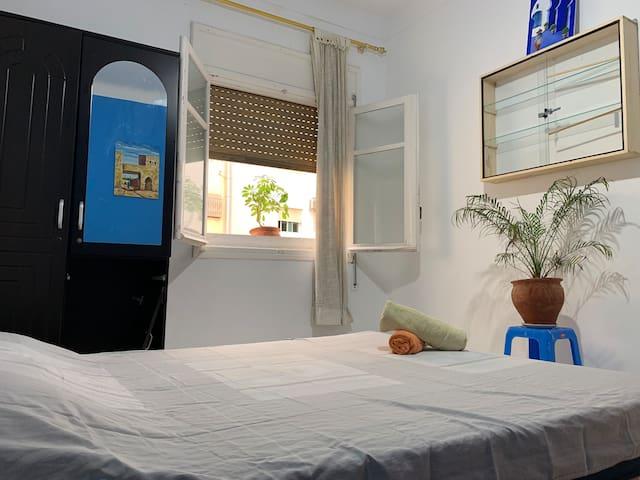 Basement bedroom accomodation