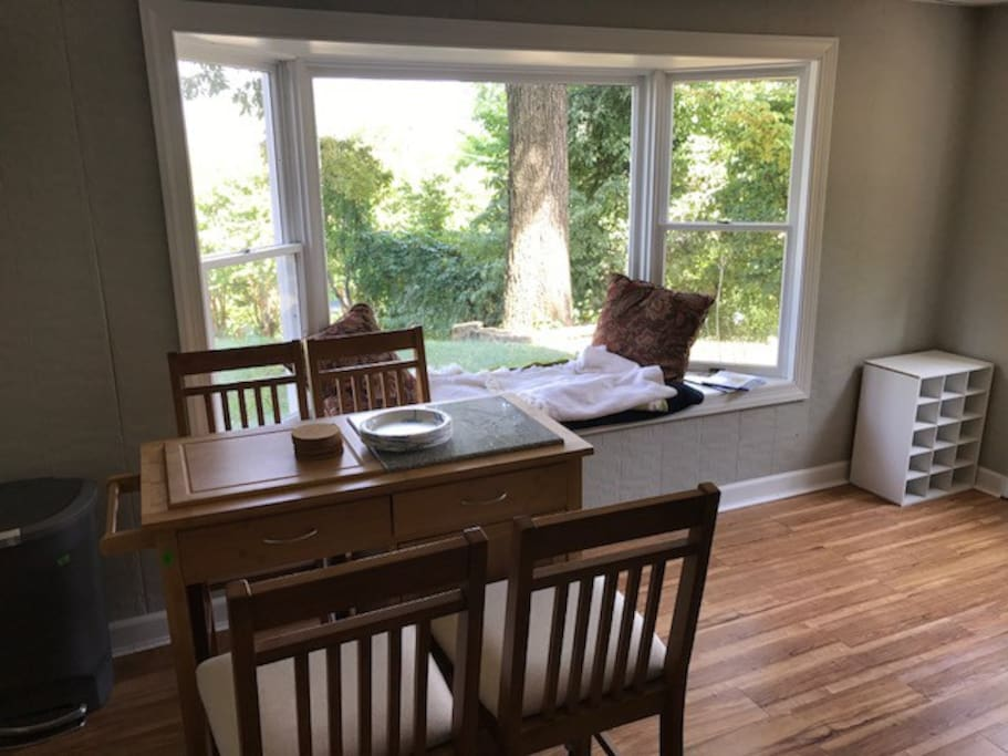 View from Bay Windows