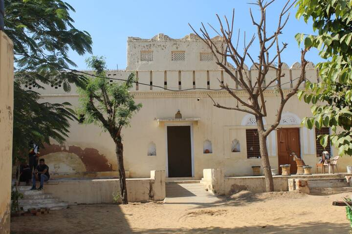 Royal villa fort in Rajasthan
