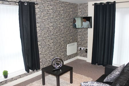 Charming Apartment in Liverpool with Free Parking - Liverpool - Flat