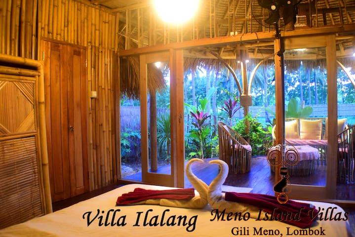 Villa Ilalang @ Meno Island Villas wellness resort