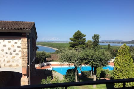ROOM WITH A (FANTASTIC!) VIEW - Ansedonia