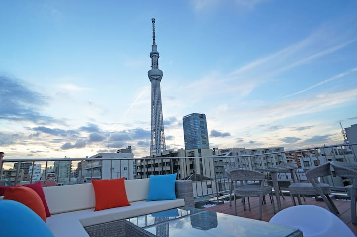 open sale!Tokyo skytree house #402 - Sumida - Apartment