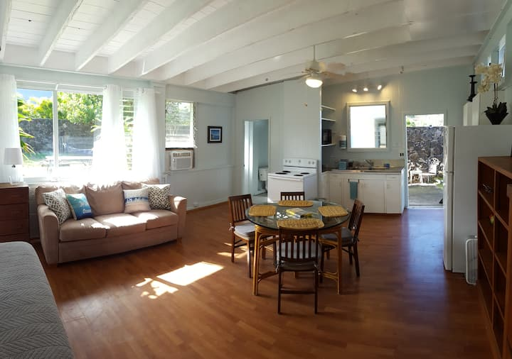 Bellows/Waimanalo Beach Studio  (sleeps 4)