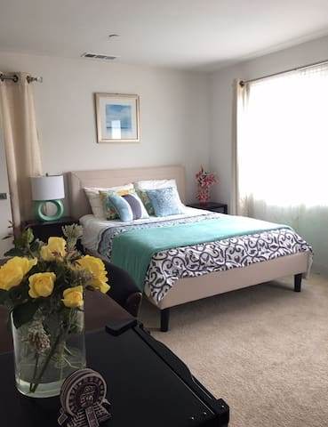Private Lux Room With Own Entrance!