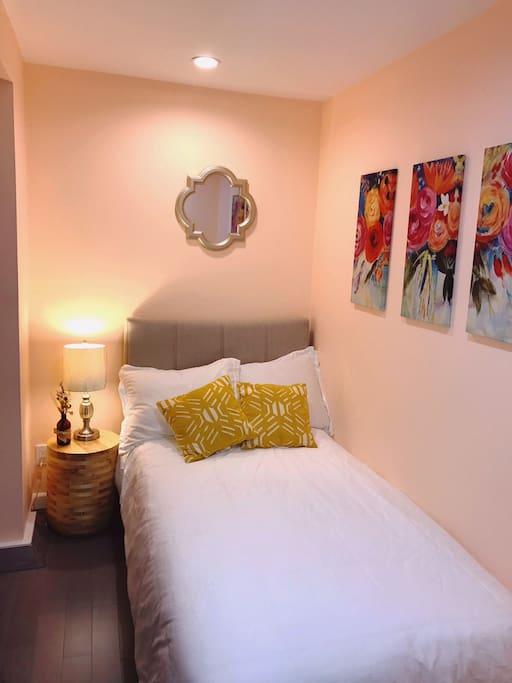 Brand new cozy bedroom