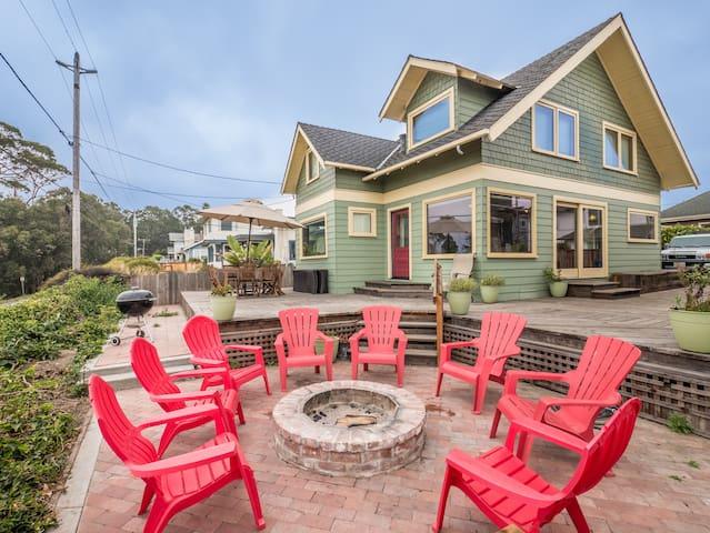 The View You Want!  Historic Charmer By The Sea - Santa Cruz - Haus