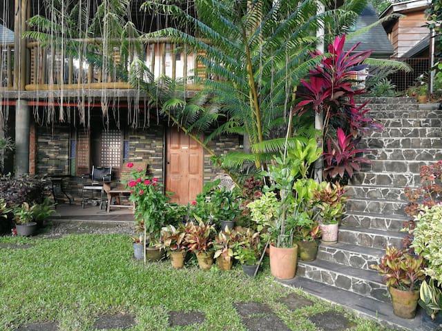 Mountain resthouse at Balanga City