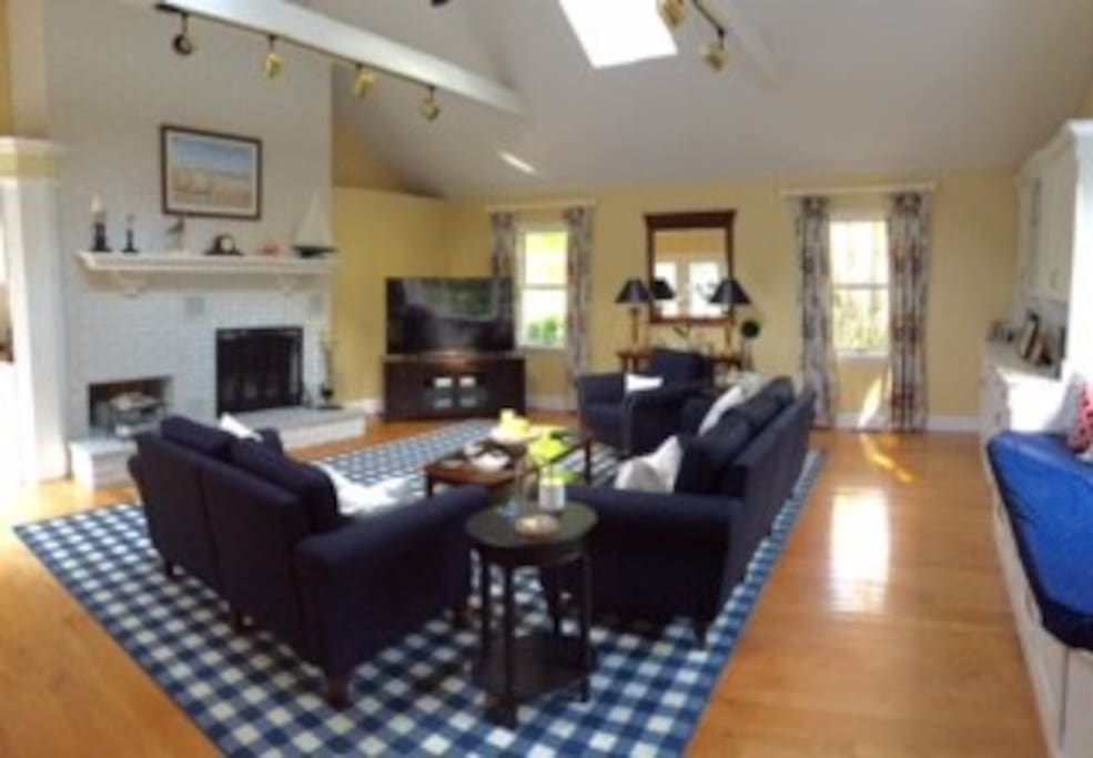 Family room off kitchen