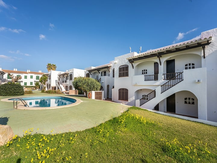 Apartment with pool close to the beach of Son Parc