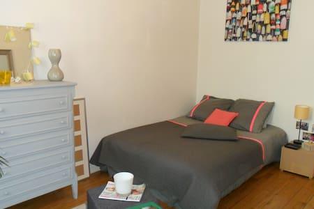 Chambre avec salle de bains privée - Troyes - Apartament