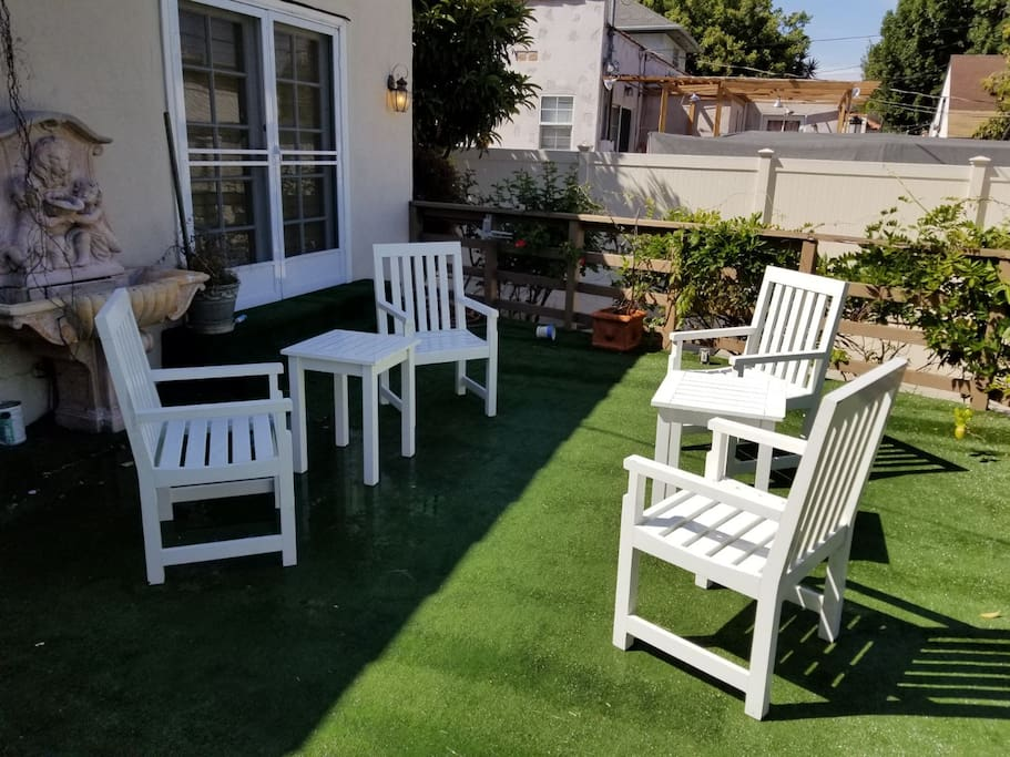 Patio Furniture with BBQ (BBQ not pictured)