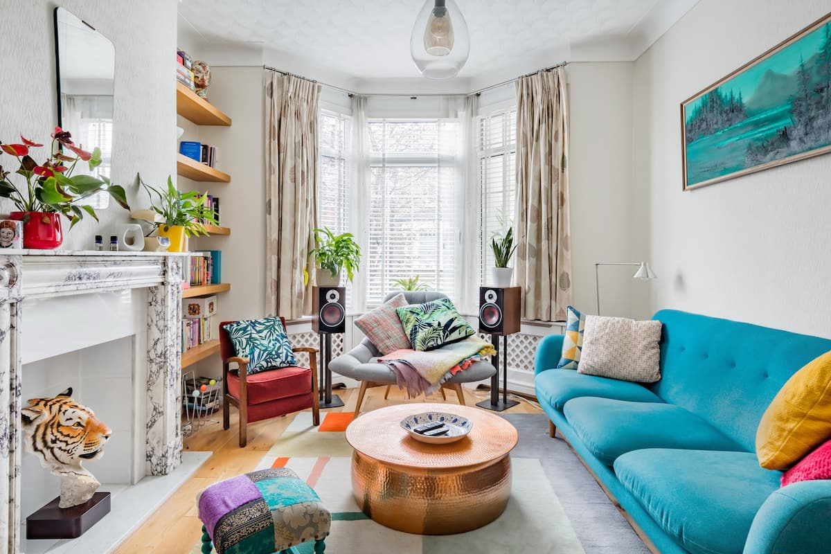 Stylish Victorian Terrace House in East London; Upton Park