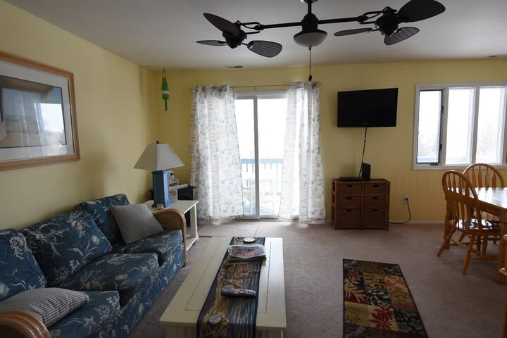 Lovely 2BD condo, 5 parking spaces! - West Cape May - Appartement